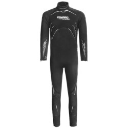 Camaro 7mm Seamless Diving Wetsuit - Semi-Dry  (For Men) in Black/Yellow