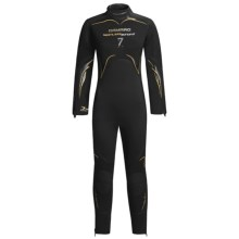 Camaro 7mm Seamless Diving Wetsuit - Semi-Dry (For Women) in Black/Yellow - Closeouts