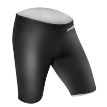 Camaro Base Layer Shorts - 2mm (For Men) in Black - Closeouts