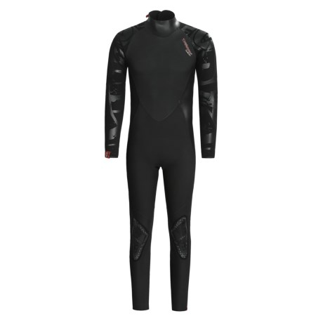 Camaro BFT 10.86 Mono Wetsuit - 4/3/2mm (For Men) in Black