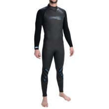 Camaro Breaker Wetsuit - 4/3mm (For Men) in Black - Closeouts