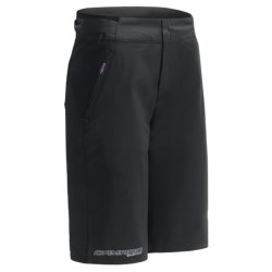 Camaro Evo Boardshorts - Neoprene Inner Shorts (For Women) in Black/Purple