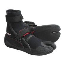 Camaro K'tana Surf Boots - 5mm (For Men and Women) in Black - Closeouts