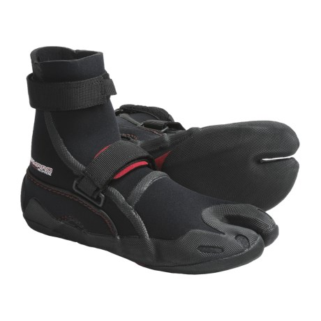 Camaro K'tana Surf Boots - 5mm (For Men and Women) in Black