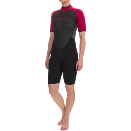 Camaro Mono Revo Flex Shorty Wetsuit - 3mm (For Women) in Asst - Closeouts