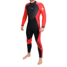 Camaro Omega Overall Wetsuit - 7mm (For Men) in Black/Red - Closeouts