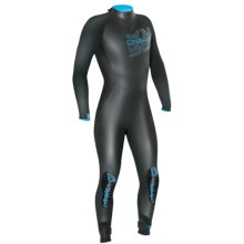 Camaro Overall Storm Full Wetsuit - 4/3/2mm (For Men) in Black - Closeouts