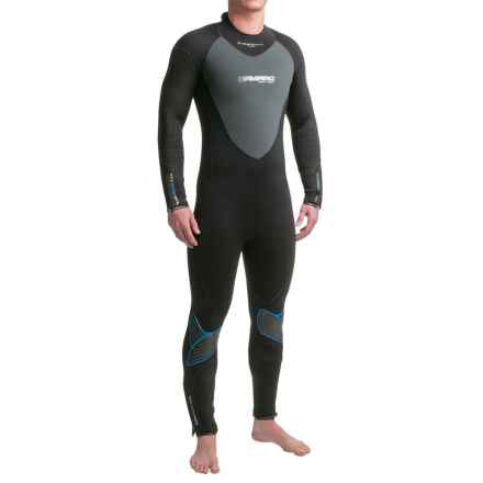 Camaro Overall SuperElastic Dive Wetsuit - 5/3/2mm (For Men) in Asst - Closeouts