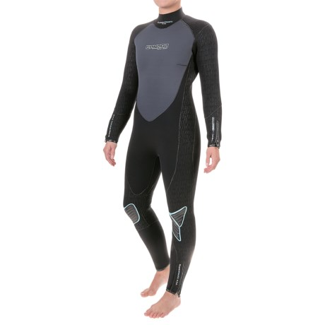Camaro Overall SuperElastic Dive Wetsuit - 5/3/2mm (For Women) in Asst