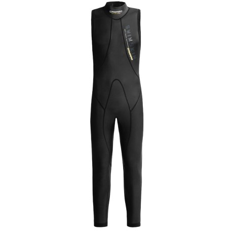 Camaro Overall Swim Skin - 3/2mm (For Men) in Black