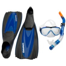 Camaro Professional Diving Set in Blue/Black - Closeouts