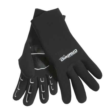 Camaro Seamless Dive Gloves - 3mm (For Men and Women) in Black - Closeouts