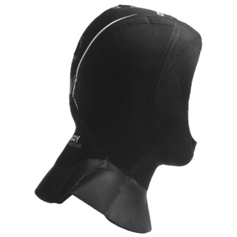 Camaro Seamless Dive Hood - 4mm Neoprene (For Men and Women) in Black