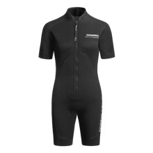 Camaro Seamless Diving Monovest - 4mm (For Women) in Black - Closeouts