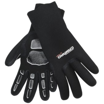 Camaro Seamless Gloves - 5 mm Neoprene (For Men and Women) in Black