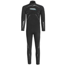 Camaro Semi-Dry Seamless Diving Wetsuit - 3mm (For Men) in Black - Closeouts