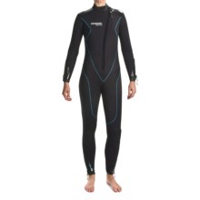 Camaro Stingray Diving Wetsuit - 5mm, Semi-Dry (For Women) in Black/Blue - Closeouts