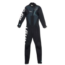 Camaro Stingray Diving Wetsuit - 5mm, Semi-Dry (For Women) in Black/Grey/Teal - Closeouts