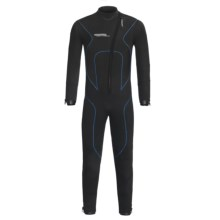 Camaro Stingray Semi-Dry Diving Wetsuit - 5mm (For Men) in Black/Blue - Closeouts