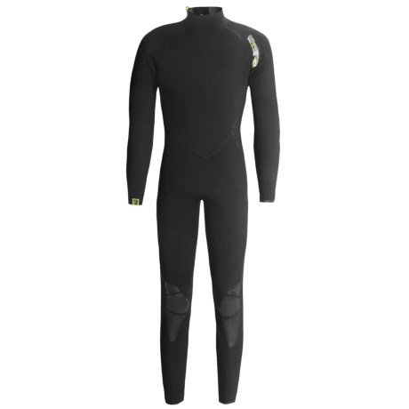 Camaro Superelastic Wetsuit - 5/4/2mm (For Men) in Black