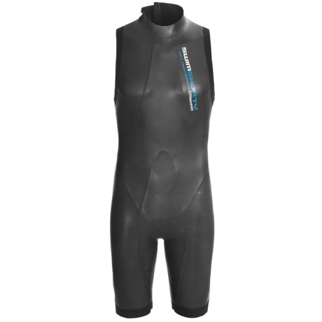 Camaro Swimshorty Mono Wetsuit - 2mm (For Men) in Black