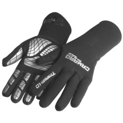 Camaro Titanium 1mm Thermo Gloves (For Men and Women) in Black