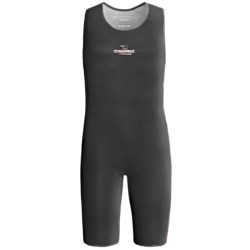 Camaro Titanium Base Layer Shorty Wetsuit - 2mm (For Men and Women) in Black