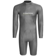 Camaro Titanium Mono Waterski Pro Shorty Wetsuit - Long Sleeve, 2mm (For Men) in Titamium - Closeouts