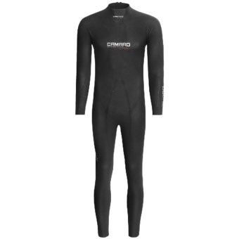 Camaro Titanium Open Cell Overall Waterski Wesuit - 2mm (For Men) in Black