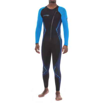Camaro Titanium Overall Wetsuit - 3mm (For Men) in Black - Closeouts