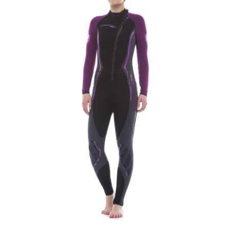 Camaro Titanium Overall Wetsuit - Diving, 3mm (For Women) in Black - Closeouts