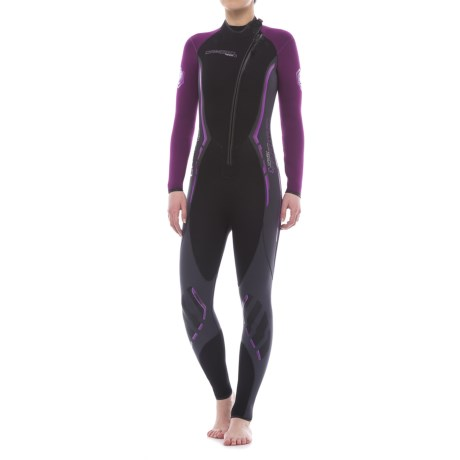 Camaro Titanium Overall Wetsuit - Diving, 3mm (For Women) in Black
