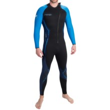 Camaro Titanium Tropic Wetsuit - 3mm (For Men) in Black / Blue - Closeouts