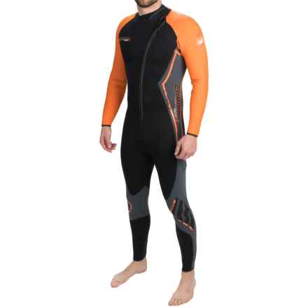 Camaro Titanium Tropic Wetsuit - 3mm (For Men) in Black/Orange - Closeouts