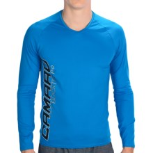 Camaro Ultradry Shirt - UPF 50+, Long Sleeve (For Men) in Blue - Closeouts