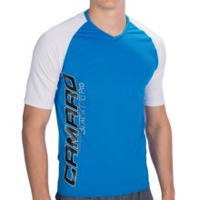 Camaro Ultradry Shirt - UPF 50+, Short Sleeve (For Men) in Blue/White - Closeouts