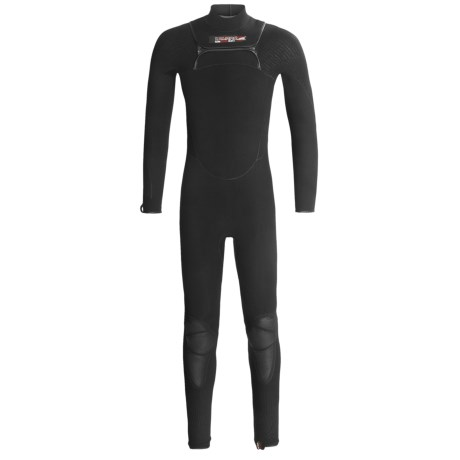 Camaro Zero Surfing Wetsuit - 4mm, Superelastic, Zipperless (For Men) in Black