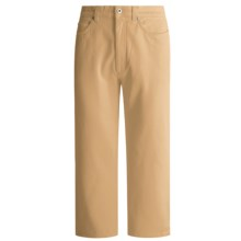 Cambio Lil Twill Capri Pants - Stretch  (For Women) in Wood - Closeouts
