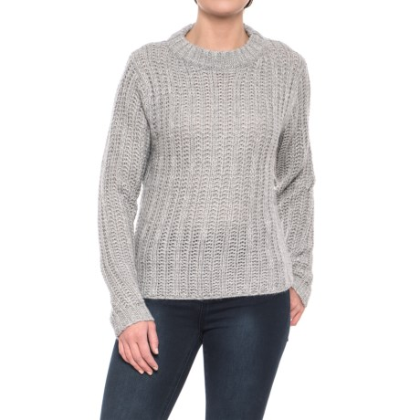 Image of Cambria Ribbed Boxy Sweater (For Women)