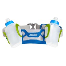 CamelBak Arc 2 Two-Bottle Hydration Belt - 20 fl.oz. in Electric Blue/Lime Punch - Closeouts