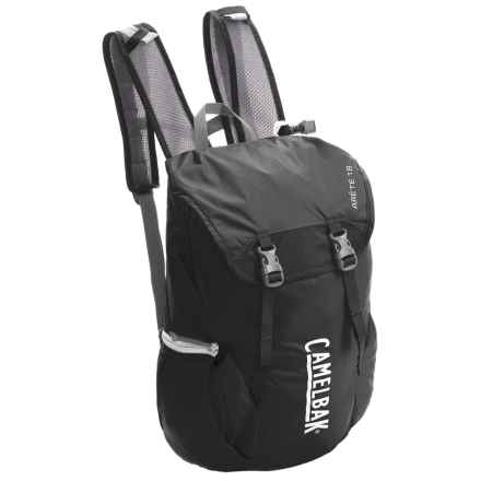 CamelBak Arete 18 Hydration Pack - 50 fl.oz. in Black/Silver - Closeouts