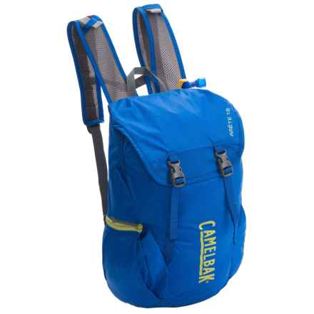 CamelBak Arete 18 Hydration Pack - 50 fl.oz. in Olympian Blue/Green Oasis - Closeouts