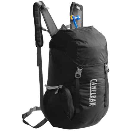 CamelBak Arete 22 Hydration Pack - 70 fl.oz. in Black/Silver - Closeouts
