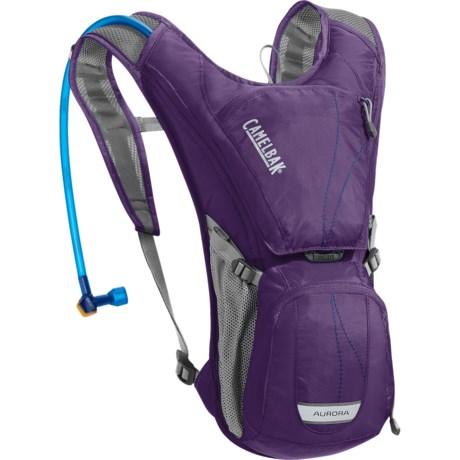 CamelBak Aurora Hydration Pack - 70 fl.oz.(For Women) in Parachute Purple/Blue Depths