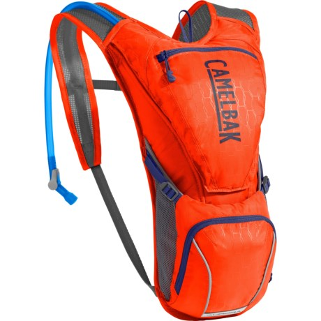 CamelBak Aurora Hydration Pack - 85 fl.oz. (For Women) in Cherry Tomato/Pitch Blue