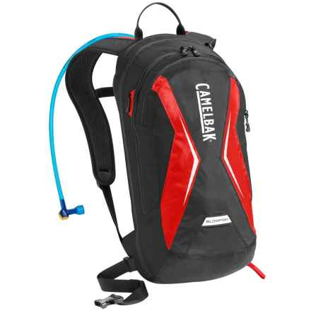 CamelBak Blowfish 18L Hydration Pack - 70 fl.oz. in Black/Racing Red - Closeouts