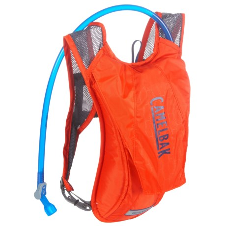 CamelBak Charm Hydration Pack - 50 fl.oz. (For Women) in Cherry Tomato/Pitch Blue
