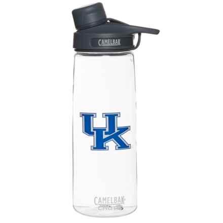 CamelBak Chute Collegiate Water Bottle - BPA-Free, 25 fl.oz. in Clear/Kentucky - Closeouts