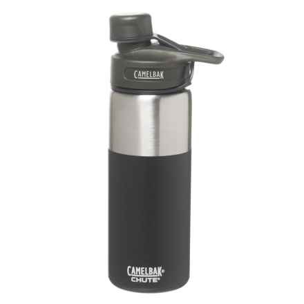 CamelBak Chute Stainless Steel Water Bottle - 20 fl.oz., Vacuum Insulated in Jet - Closeouts