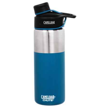 CamelBak Chute Stainless Steel Water Bottle - 20 fl.oz., Vacuum Insulated in Pacific - Closeouts